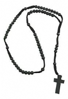 Rosary necklace- assorted colours (Code 3180)